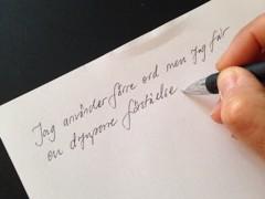 Fördelar med att anteckna för hand